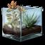 ícone que dá acesso ao relato de experiência ecossistema experimental: a autonomia dos vegetais