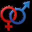 ícone cromossomos sexuais