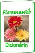 Capa do dicionário on-line Flores na Web