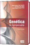 capa do livro Genética na Agropecuária