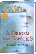 Capa do livro A Origem das Espécies