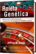 capa do livro roleta genética: apresenta o jogo roleta.